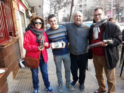 "Celebrado el sorteo de ""La caja loca"" del Bar Toni"