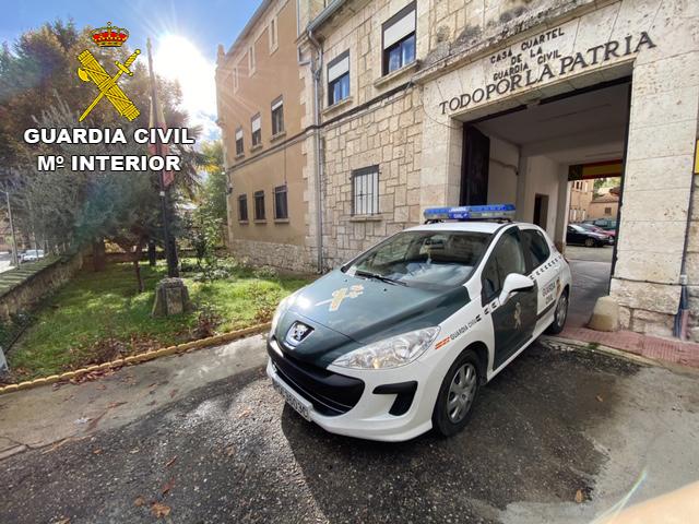 La Guardia Civil detiene a una persona en Brihuega por tentativa de homicidio