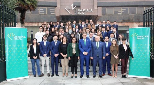 65 alumnos universitarios comienzan sus prácticas en Eurocaja Rural