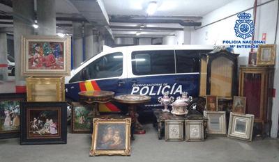 FOTOS | Robo de película en Talavera: La Policía Nacional recupera gran parte del botín