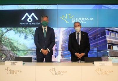 EUROCAJA   Respalda la promoción y protección del aceite de oliva elaborado por la D.O.P. 'Montes de Toledo'