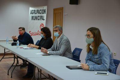 PROVINCIA   Encuentro socialista en Val de Santo Domingo