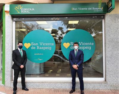 EUROCAJA RURAL | Abre nueva oficina en San Vicente del Raspeig