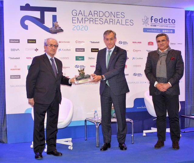 GALARDONES FEDETO | Eurocaja Rural entrega el premio 'Empresa del Año' a Válquer Laboratorios