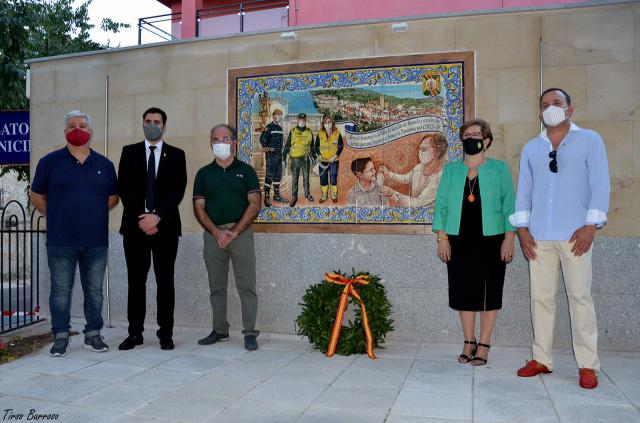 CASTILLO DE BAYUELA | Un mural para los héroes del Covid-19