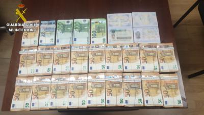 BLANQUEO   Incautados 95.000€ por posible financiación del terrorismo
