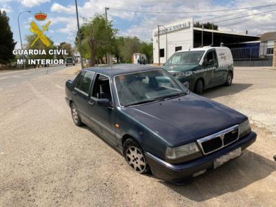 DETENIDOS | Se dieron a la fuga con un coche robado