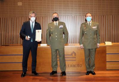 EUROCAJA | El presidente, Javier López, será nuevo 'Embajador de la Marca Ejército'