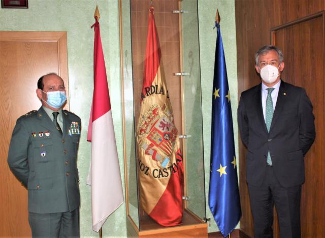 EUROCAJA | El presidente visita al General Jefe de la Guardia Civil