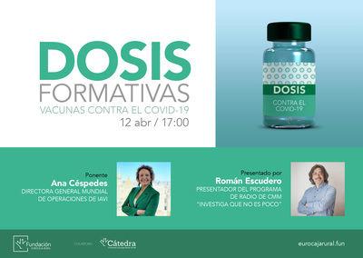 EUROCAJA RURAL | Nuevo programa 'Dosis Formativas' con una conferencia online sobre las vacunas contra la COVID-19