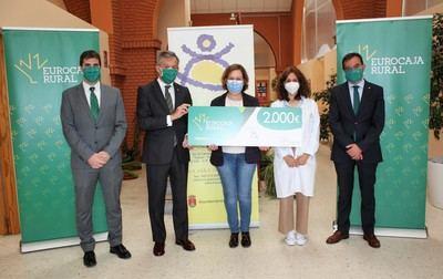 EUROCAJA RURAL | La Fundación aporta 2.000 euros al Centro Ocupacional 'La Alegría'