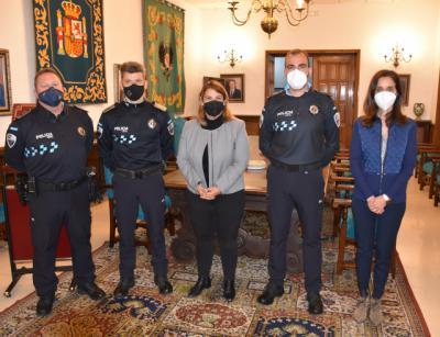 TALAVERA   Dos nuevos agentes se incorporan como policías locales