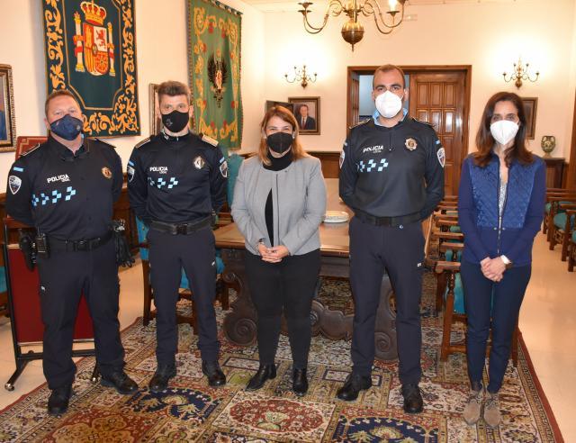 TALAVERA | Dos nuevos agentes se incorporan como policías locales