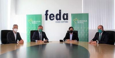 Eurocaja Rural y FEDA reafirman su alianza