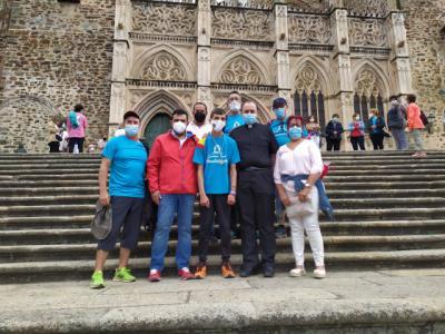 De Talavera a Guadalupe: así ha sido la peregrinación de Álvaro