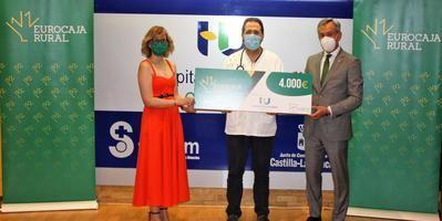 Eurocaja Rural dona 4.000 euros al Hospital de Guadalajara