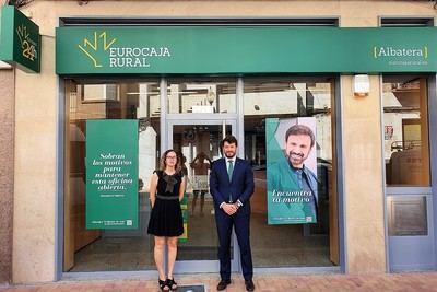 Eurocaja rural contribuye a generar empleo inaugurando una oficina en Albatera