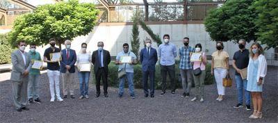 Eurocaja Rural, JCCM y Fundación CIEES entregan sus diplomas