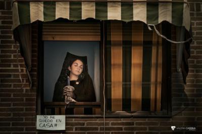 SEMANA SANTA | 'Devoción interior #yomequedoencasa', por Valeria Cassina