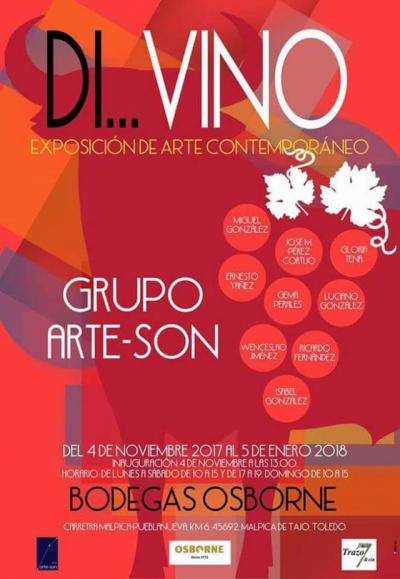 Las Bodegas Osborne de Malpica de Tajo acogen la exposición 'Di...Vino'