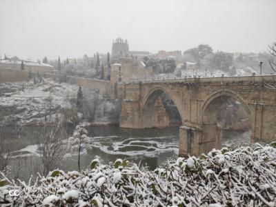 REDES   El vídeo de la histórica nevada en Toledo que no podrás dejar de ver