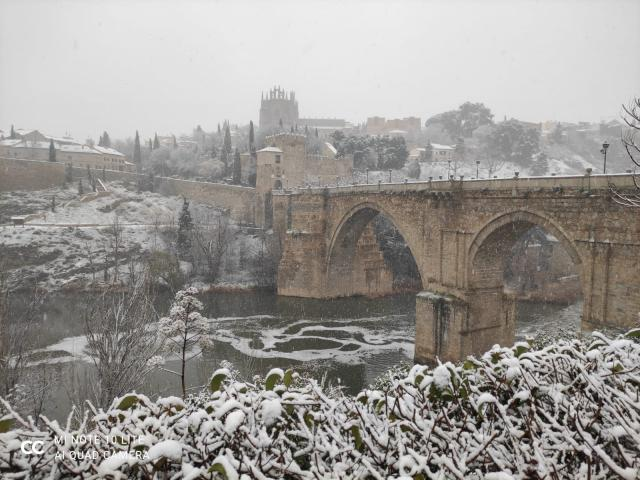 REDES | El vídeo de la histórica nevada en Toledo que no podrás dejar de ver