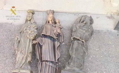 Detenidos por robos en 22 cementerios de la provincia de Toledo