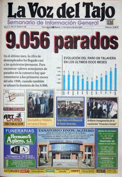 PORTADAS | 'Mil números y cuatro décadas haciendo periodismo' (VI)