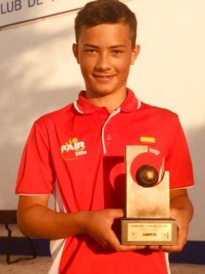 TENIS | El talaverano Fabio Vega campeón infantil de CLM