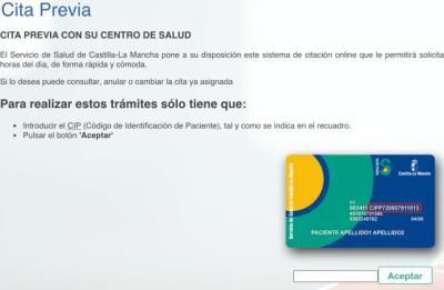 Así funciona el sistema de autocita para la vacuna en Castilla-La Mancha