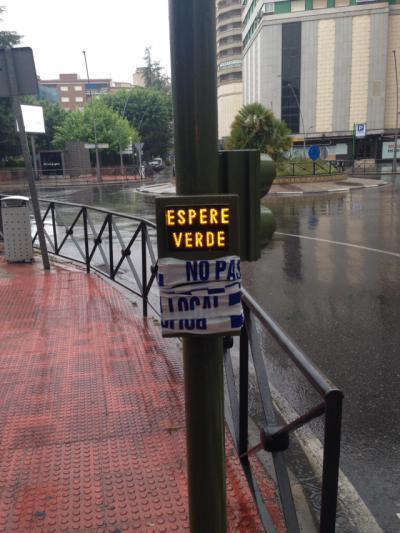 TALAVERA | ¡No pulses! Los semaforos ya son automáticos para evitar contagios