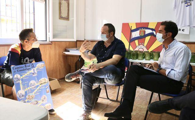 TALAVERA | Comendador apuesta por el Camino de Guadalupe para impulsar la Comarca
