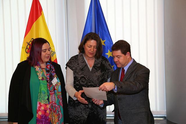 """García-Page expone en Europa la necesidad de que Talavera sea """"referencia logística"""""""