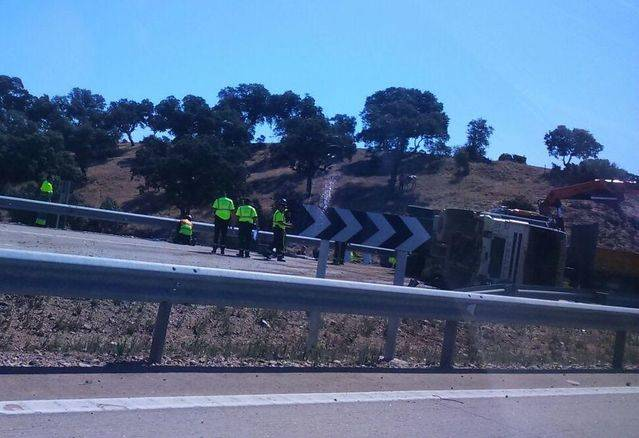 Accidente A-5