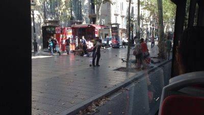 Vídeo desolador: atentado en la Rambla de Barcelona