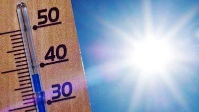 Aumenta el riesgo de incendios por las altas temperaturas