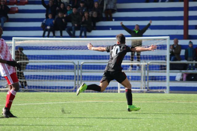 "Un gol del parrillano del CF Talavera que ""VALEN"" tres puntos"