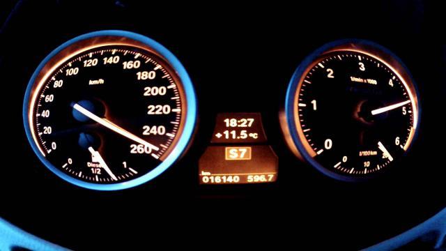 Investigan a un conductor por circular a 262 km/h