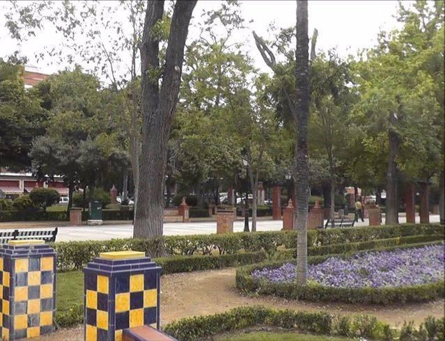 Jardines del Prado en Talavera de la Reina