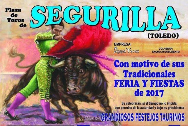 Todo dispuesto para el inicio de las fiestas en Segurilla con una gran novillada y un espectáculo ecuestre