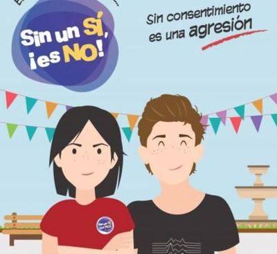 La campaña 'Sin un sí, es no' para prevenir la violación en cita llegará a once municipios de la provincia de Toledo