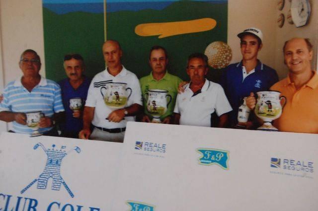 Francisco Sánchez y Tomás Cura triunfadores del XVIII Torneo de Golf Reale Seguros