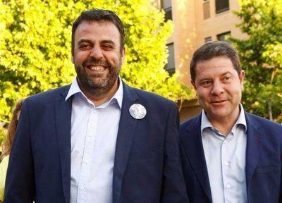 José Luis Blanco (i) y Emiliano García-Page (d)