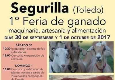 Segurilla celebra su I Feria de Ganado, Maquinaria, Artesanía y Alimentación