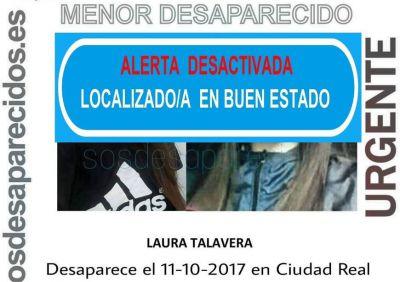 Localizada en Madrid la menor desparecida en Ciudad Real