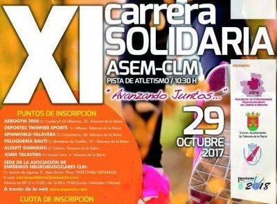 La XI Carrera Solidaria ASEM-CLM ya está en marcha