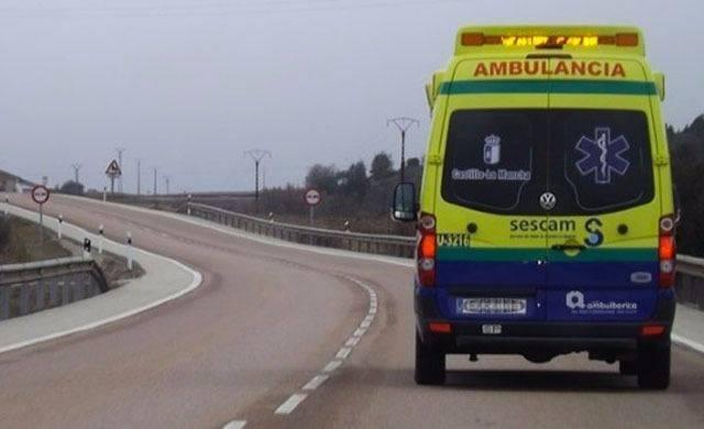 Dos heridos graves y 4 leves en los cinco accidentes ocurridos este fin de semana en Castilla-La Mancha