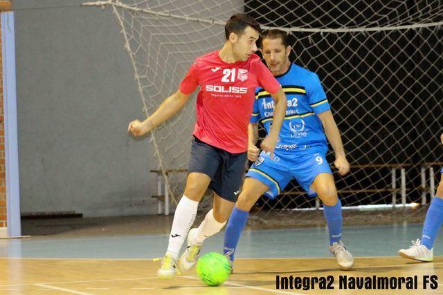 FÚTBOL SALA | Un doble penalti acaba con el Soliss FS Talavera en Navalmoral