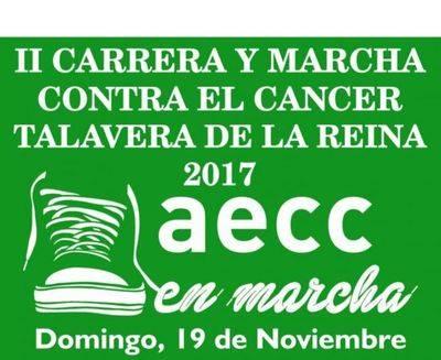 La II Carrera y Marcha Solidaria a favor de la Asociación contra el Cáncer se celebra este domingo en Talavera
