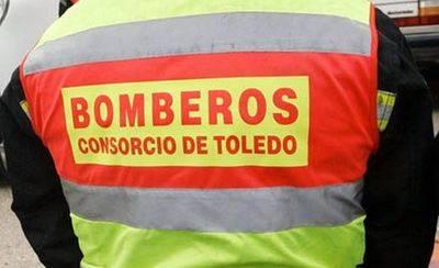 Desalojado un edificio en Bargas por el incendio de la campana extractora de una vivienda